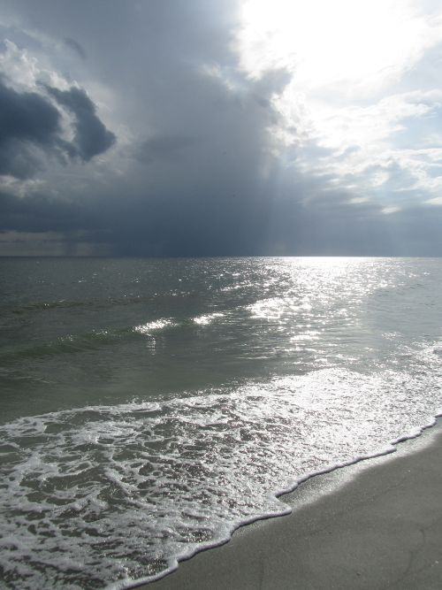 storm, sun and surf